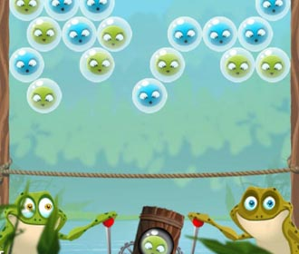 Frog Bubble Shooter
